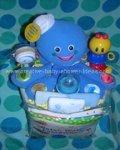 polka dot baby einstein octopus cake
