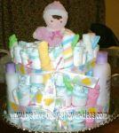 baby doll diaper cake