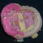 top of baby basket carriage