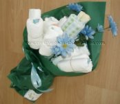 diaper baby bouquet