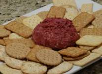 chipped beef cheese ball appetizer
