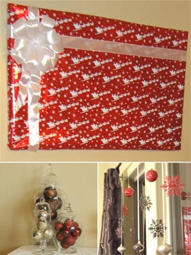 christmas baby shower decoration ideas