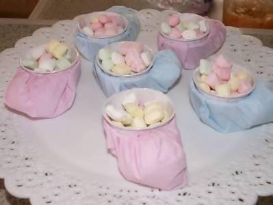 kleenex tissue baby bootie cups