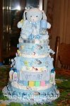 blue bunny got milk diaper cake