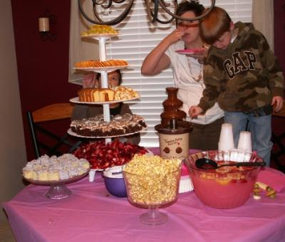 A Open House Baby Shower
