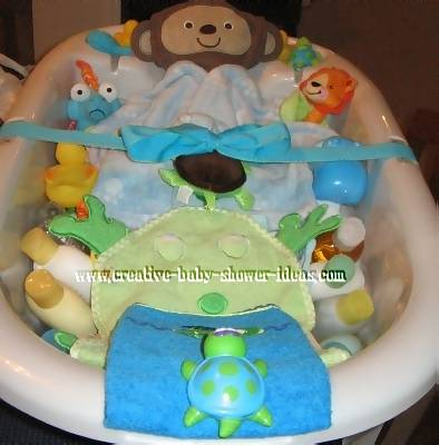 baby bathtub gift