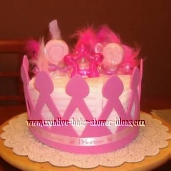 baby diaper cupcakes