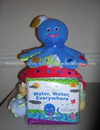 blue octopus baby einstein cake