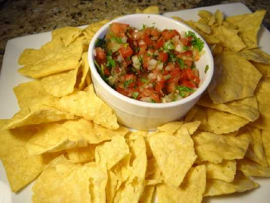 pico de gallo appetizer