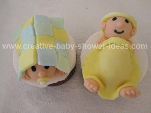 Baby Blanket Cupcakes