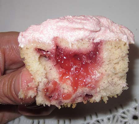 strawberry fruit cupcake filling