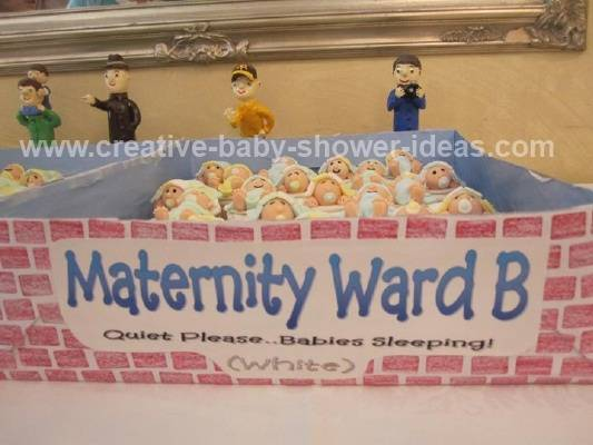 Maternity Ward Baby shower Cupcakes