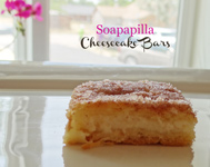 soapapilla cheesecake bars