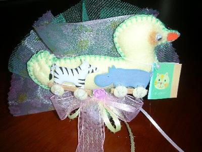 noahs ark themed baby shower favor