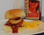 western cheeseburger slider