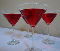 cranraspberry sparkler punch
