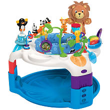 baby einstein bouncer with jungle animal toys