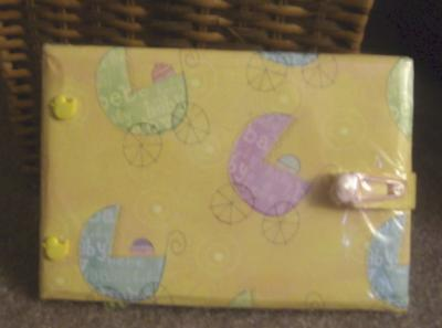 Blessings Baby Shower Scrapbook
