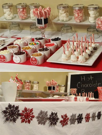 decorations for christmas baby shower