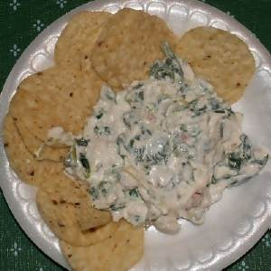 creamy spinach dip appetizer
