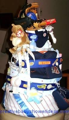 detroit tigers diaper cakes