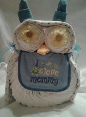 owl diaper animal