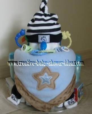 diaper baby cake
