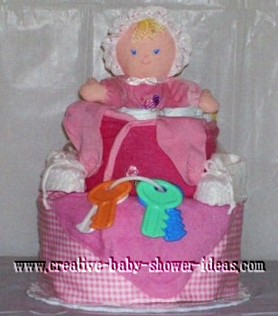 Edible Diaper Cake