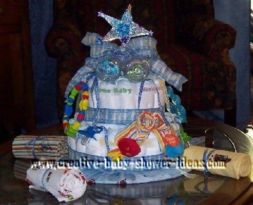 Diaper Cake Decorating Ideas : NASA Cake Decorations - Pics about space