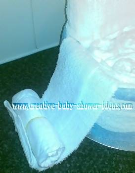 rolling chair arms for diaper cake chair