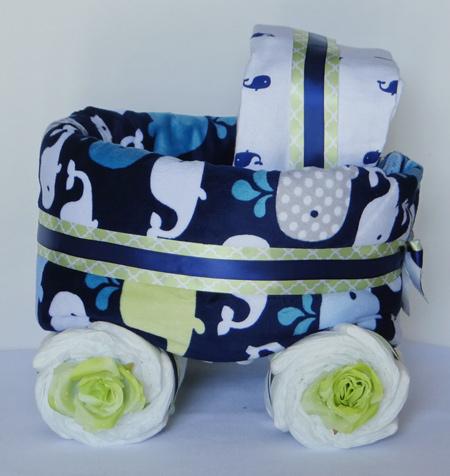 finished diaper stroller