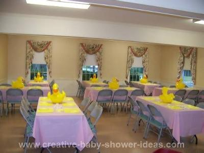 Ducky Theme Baby Shower