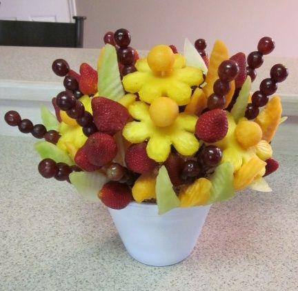 edible fruit bouquet