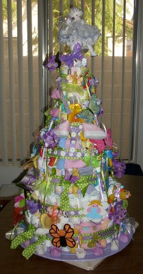 fairy doll diaper cake