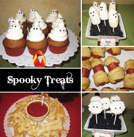 pictures of halloween treats - A Halloween Baby Shower ~ Celebrating A Baby Is A Ghoulish Delight ~