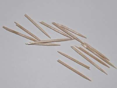 toothpicks for topiary