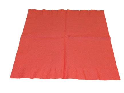 paper napkin laying flat