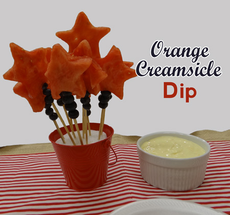 orange creamsicle dip