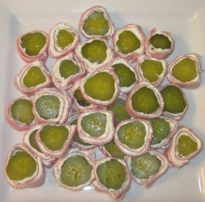 pickle roll up appetizers