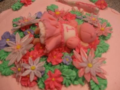Girl Softball Cake