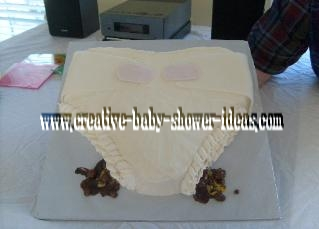 poopy diaper baby cake eeew