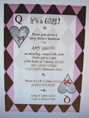 An Alice In Wonderland Baby Shower