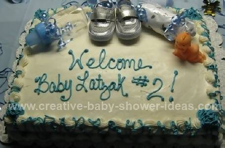 silver shoes baby bootie cake
