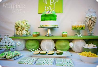 Pea In A Pod Baby Shower