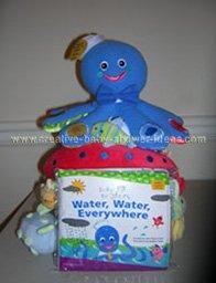 baby einstein octopus diaper cake