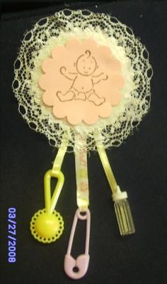Baby Lapel Shower Game