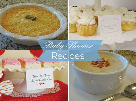 yummy pictures of baby shower food