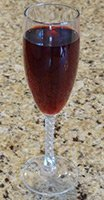 sparkling raspberry punch
