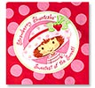 strawberry shortcake party napkin