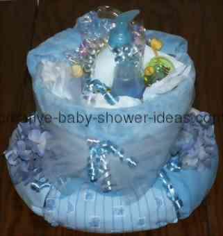 baby wreath centerpiece